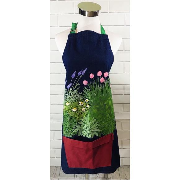 Liz Lauter Designs Accessories   Hand Painted Gardening Apron   Poshmark